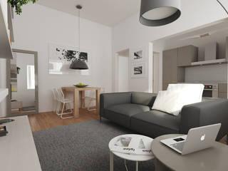 Private Apartment: Soggiorno in stile in stile Moderno di Emanuela de Caro