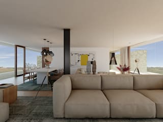Living room by José Tiago Rosa, Modern