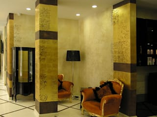 мастерская22 Office spaces & stores Amber/Gold