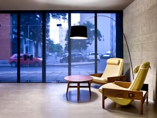 SAINZ arquitetura Salas de conferencias Gris