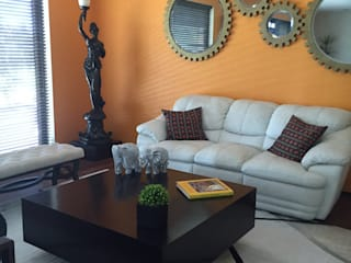 Casa country club Tehuacan Salones modernos de Helio interiores Tehuacan Moderno