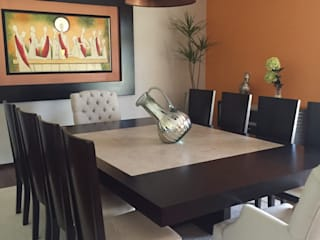Dining room by Helio interiores Tehuacan , Modern