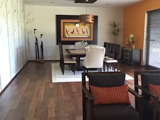 Comedor: Comedores de estilo moderno por Helio interiores Tehuacan