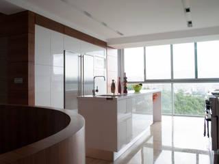 VODO Arquitectos 現代廚房設計點子、靈感&圖片