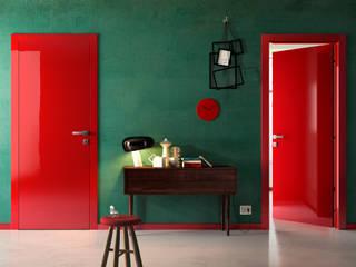Progetti info8258 Modern Corridor, Hallway and Staircase