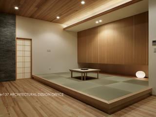 atelier137 ARCHITECTURAL DESIGN OFFICE Soggiorno moderno
