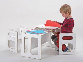 Kindertisch STIM und zwei Stühle CHALRY:   von Christians-Holzladen