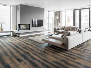 apartment in Amsterdam Moderne Häuser von Dennebos Flooring BV Modern Holz Holznachbildung