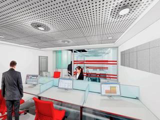 Reforma de local para CYPE Estudios y despachos de estilo moderno de estudio MG arquitectura y urbanismo Moderno