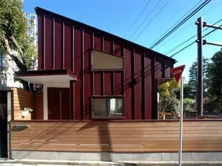 文京の住宅: 深澤設計が手掛けた家です。