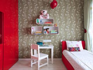 SM Apartment Modern nursery/kids room by KdnD Studio LLP Modern