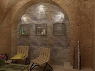 Лаунж зона в офисе: Офисные помещения в . Автор – Дизайн студия Марины Геба