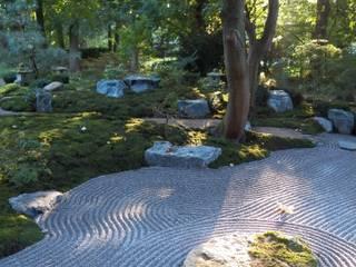 Asian style garden by Kokeniwa Japanische Gartengestaltung Asian