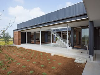 Eclectic style houses by 空間設計室/kukanarchi Eclectic