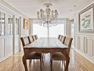 UNION Architectural Concept Classic style dining room Wood Beige
