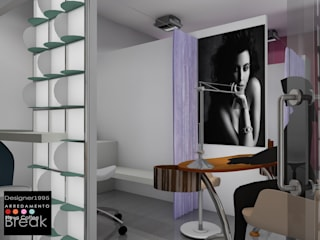 Progettazione  per un negozio di estetica e cura del corpo: Negozi & Locali commerciali in stile  di STUDIO ARCHITETTURA-Designer1995  ,