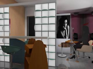 Progettazione  per un negozio di estetica e cura del corpo: Negozi & Locali commerciali in stile  di Designer1995  Live Work Design