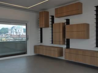 Progetto di interni: Soggiorno in stile  di ABnormA architetture