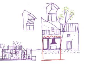 Ristrutturazione di un casale in località Passalacqua (PA):  in stile  di Studio Cangemi s.a.s.