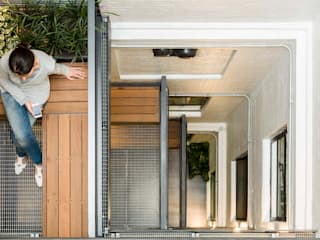 Greencoat House Modern balcony, veranda & terrace by Squire and Partners Modern
