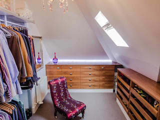 HOUSE EXTENSION & LOFT CONVERSION IN SW LONDON Modern dressing room by DPS ltd. Modern