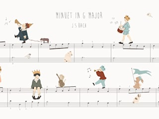 Minuet in G Major:   por Little Hands