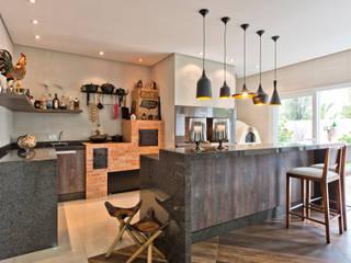 Angelica Pecego Arquitetura Cocinas de estilo ecléctico