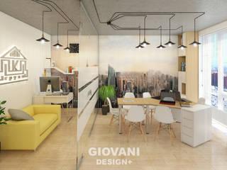 インダストリアルデザインの 書斎 の Giovani Design Studio インダストリアル