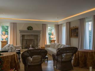 Villa urbana Soggiorno classico di Studio di architettura Talamini e Camerin Classico