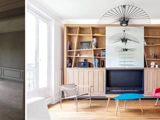 Salle de séjour:  de style  par Createurs d'interieur Aix-en-Provence