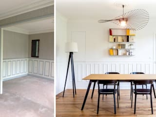 Salle à manger:  de style  par Createurs d'interieur Aix-en-Provence