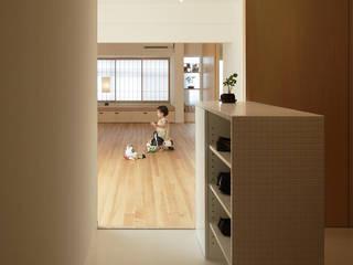 城東の家: カナタニ建築設計工房が手掛けた現代のです。,モダン