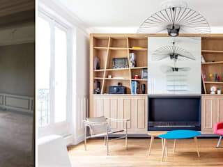 Séjour:  de style  par Créateurs d'intérieur Marseille