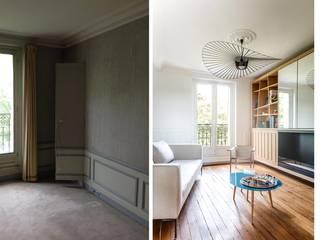 Salon:  de style  par Créateurs d'intérieur Marseille