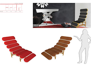 Siège Folding par MC Architecture Moderne