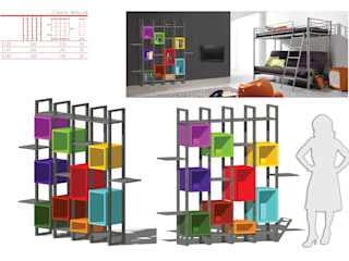 Etagère modulor par MC Architecture Moderne