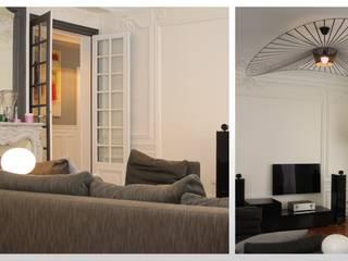 Appartement - Paris 8 ARCHITECTURAL DECO Salon moderne