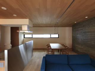 Ruang Makan Modern Oleh 有限会社Kaデザイン Modern