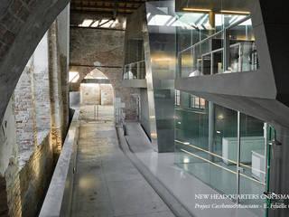 NEW HEADQUARTERS CNR-ISMAR Moderne Geschäftsräume & Stores von Pizzeghello - Architekten Berlin Modern