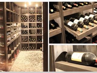 Maison - le Vésinet: Cave à vin de style  par ARCHITECTURAL DECO
