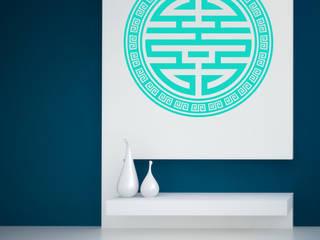 Der Lebensfreude Laden Asian walls & floors Synthetic Multicolored