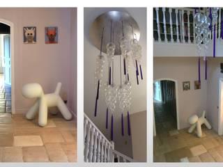 Maison - le Vésinet: Couloir et hall d'entrée de style  par ARCHITECTURAL DECO