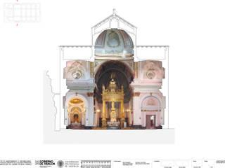 """Sanierung von die Kirche """"Inmaculada de Linares de Mora"""", Spanien. Mediterrane Häuser von Pizzeghello - Architekten Berlin Mediterran"""