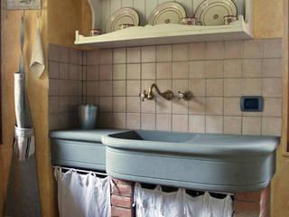 interni RASPANTI PIETRA SERENA SRL Cocinas de estilo moderno