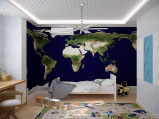 Skandinavische Kinderzimmer von Студия интерьерного дизайна happy.design Skandinavisch