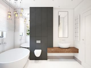 Minimalist style bathroom by Finchstudio Minimalist