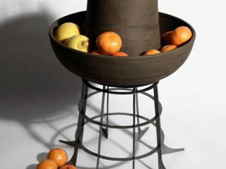 Hilla: rustic  by AdriAn Blanc Design Studio, Rustic
