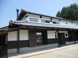 古民家再生(江戸、明治、大正、昭和初期の家): ぬくもりハウス株式会社が手掛けた家です。,和風