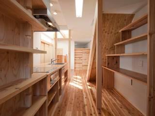 路地のある家: 株式会社田渕建築設計事務所が手掛けたです。