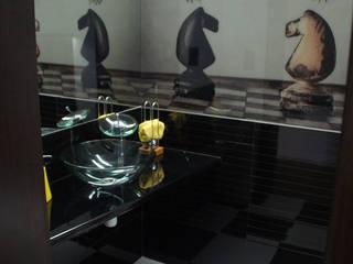 BUK - łazienki: styl , w kategorii  zaprojektowany przez Arta Design